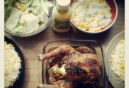 Rozmaringos hagymával töltött csirke | NOSALTY – receptek képekkel