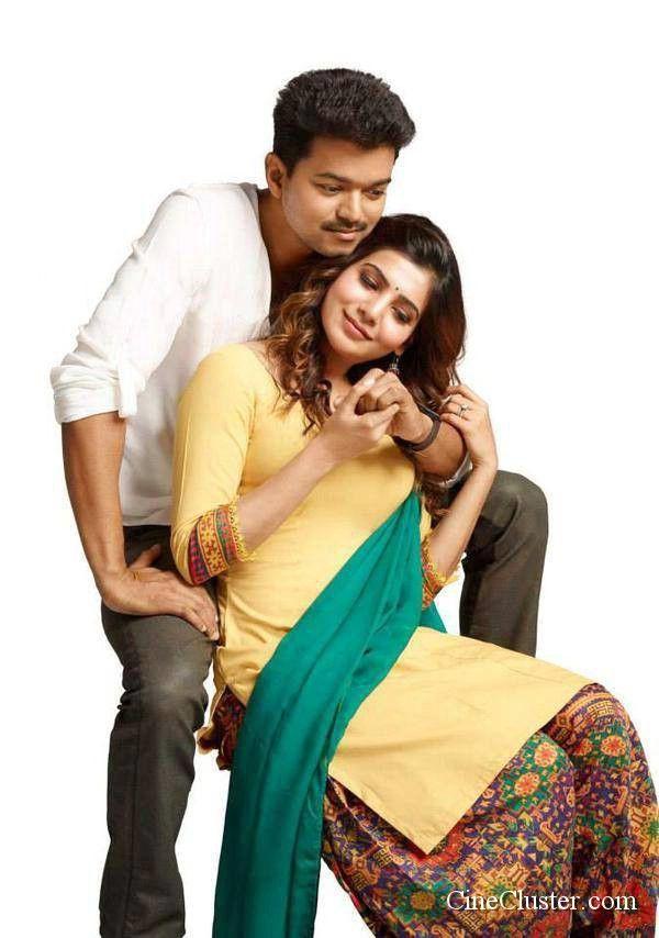 Kaththi movie latest HD stills. Vijay and samantha starring kaththi movie latest image gallery.