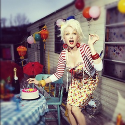 Surprise! Cyndi Lauper will perform at Betsey Johnson's #NYFW. 40 year retrospective!