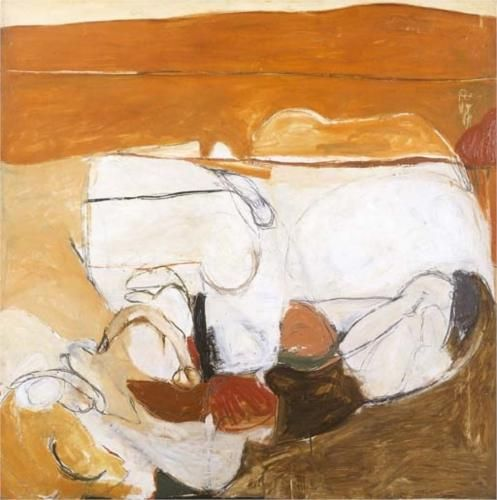 Untitled Warm Painting - Brett Whiteley