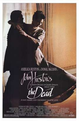 the dead  John Houston film starring Angelica Houston - the setting is Dublin in the late 19th century. Irish tenor Frank Patterson has a role in the film.