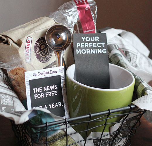 DIY Gift Basket Ideas - For Ruffled Dads - Click pic for 25 DIY Christmas Gift Ideas
