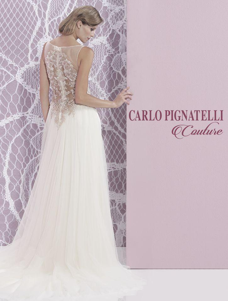 "Model ""Lory"" - Carlo Pignatelli Couture 2015. #carlopignatelli #couture #sposa #bride #weddingdress #bridalgown #weddingday #matrimonio"