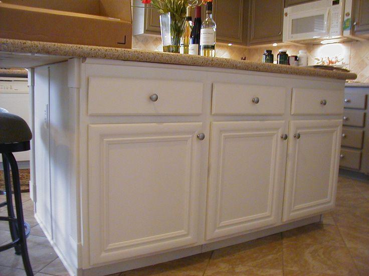 White Kitchen Cabinet #KitchenCabinets