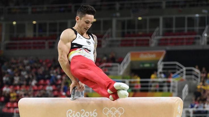 """Unser """"heißester Olympia-Teilnehmer""""   Turn-Star Nguyen liebt schöne Michelle - Olympia 2016 - Bild.de"""
