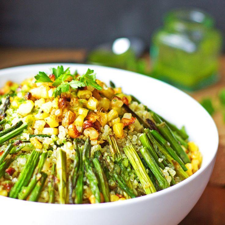 Asparagus Corn Quinoa Salad1