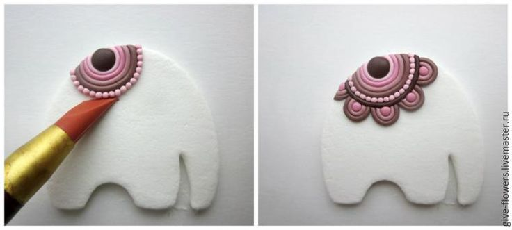 Lepim adorable elephant with a blanket - Fair Masters - handmade, handmade