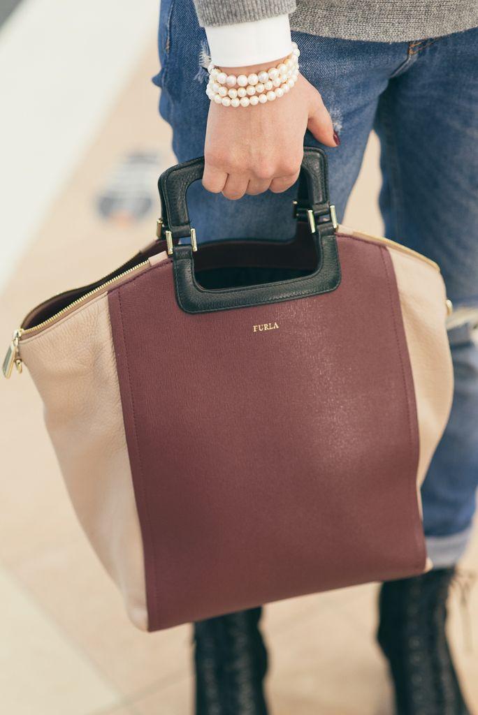 #bag #furla #pearls #jewelry