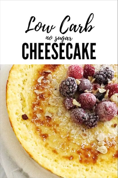 cheesecake-low-carb