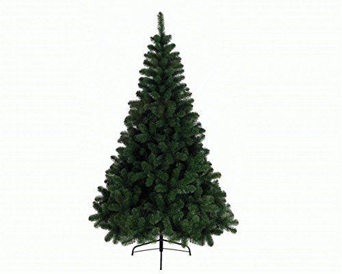 Everlands – Sapin de noel artificiel imperial vert 2.10m – Taille H 2,10 m