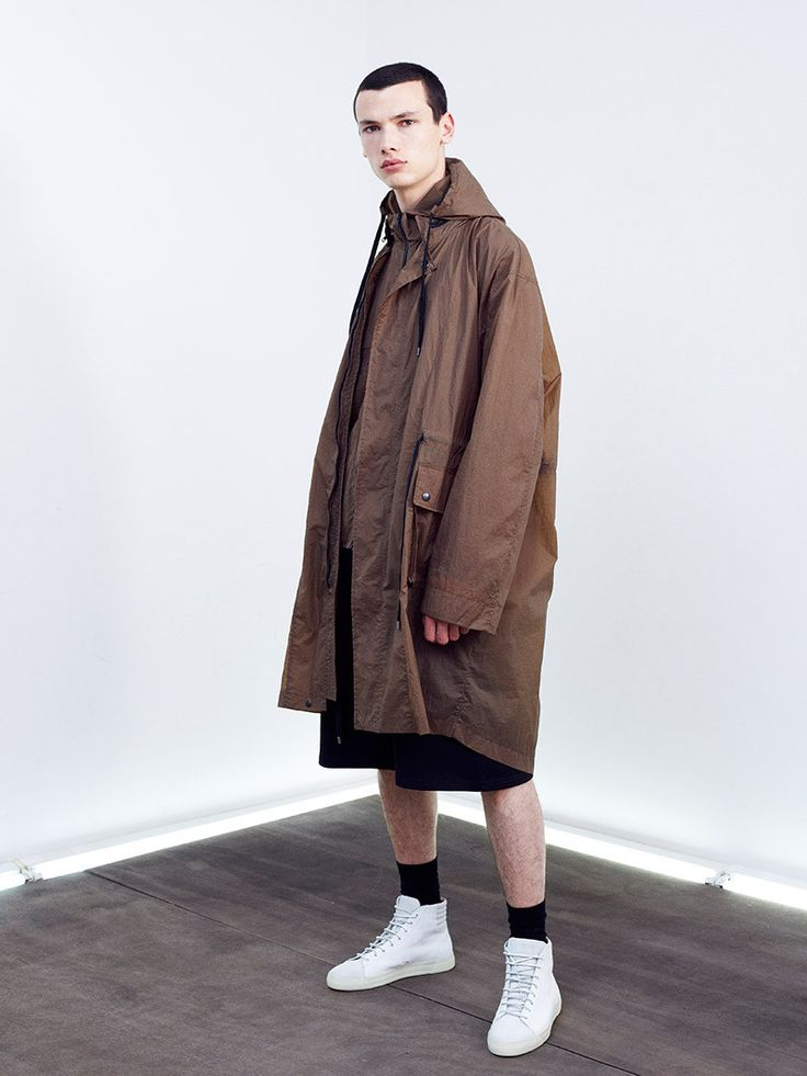 Pascal Gambarte shoots Damir Doma SILENT's lookbook for S/S 15