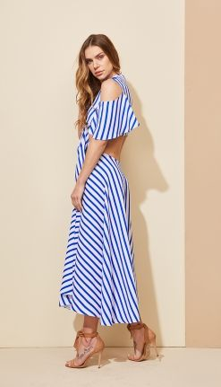 VESTIDO LISTRAS DUAS PEÇAS - VE29356-DH | Skazi, Moda feminina, roupa casual, vestidos, saias, mulher moderna