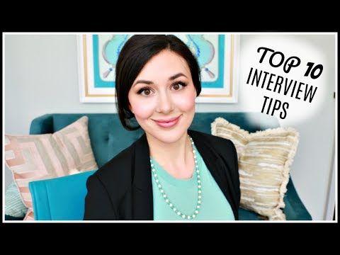 TOP 10 INTERVIEW TIPS FOR SUCCESS | #GIRLBOSSTIPS - YouTube