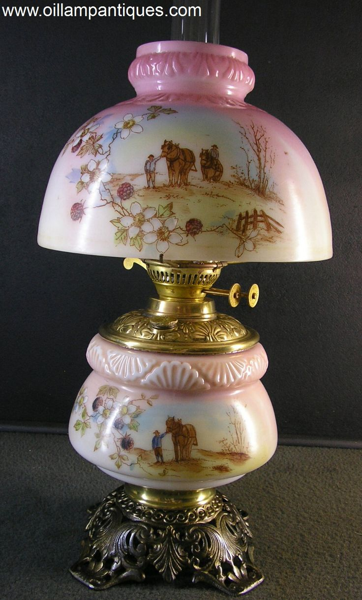 This Half Shade Parlor Lamp Has An Understated Appeal The Unusual Thing  About This Lamp Hurricane