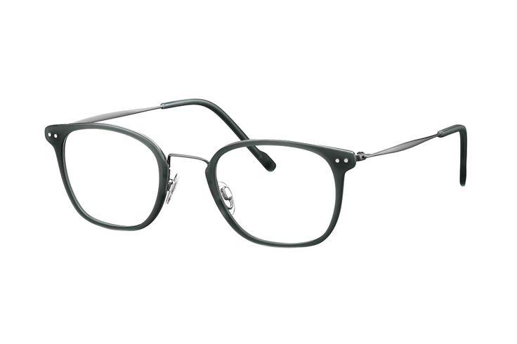 TITANflex 820757 37 Brille in dunkelgun/dunkelgrün | Die Korrektionsbrillenbrillen von TITANflex zeichnet sich durch eine moderne, schlichte Form aus. Die Brillenbügel unterstützten die Fassung hervorragend. Durch das geringe Gewicht und die hochwertige Verarbeitung lassen sich diese...