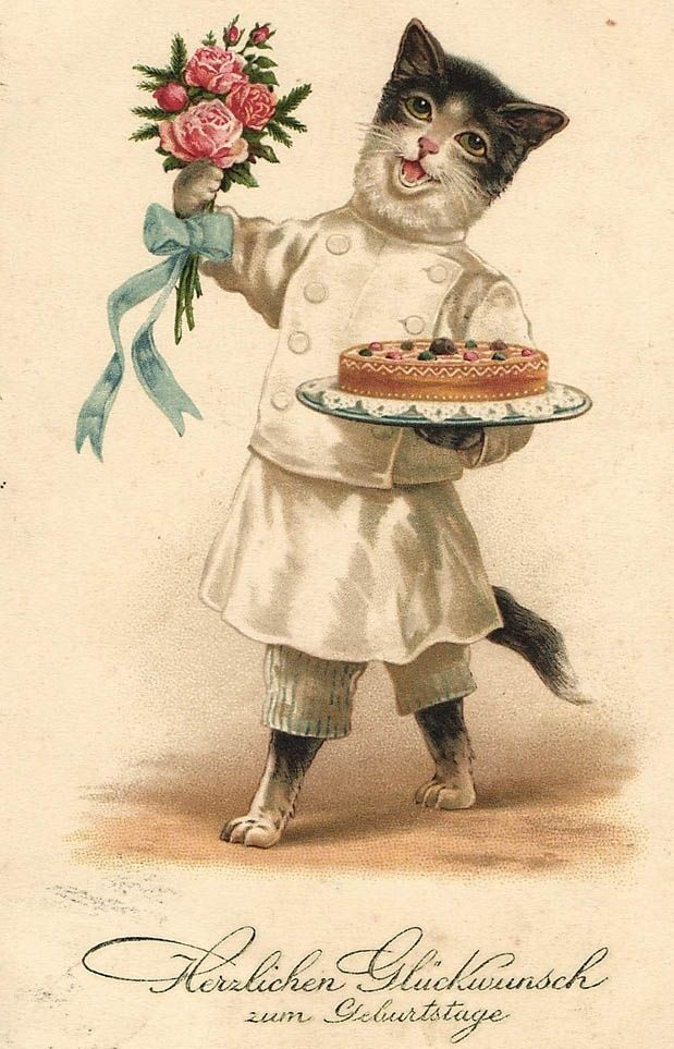 Открытка аленка, открытка кот поздравляет