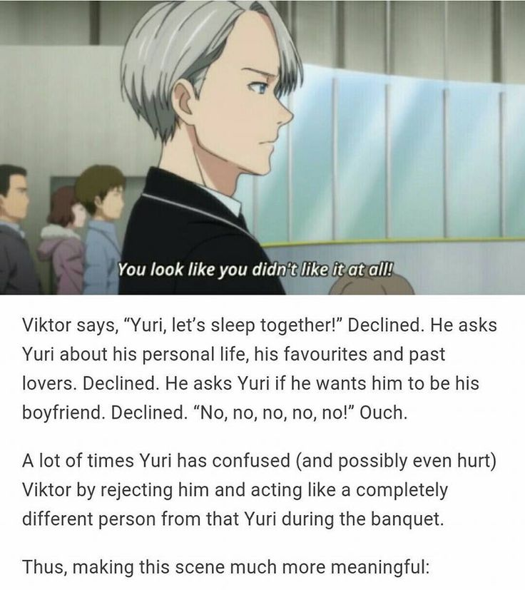 Victor stop being so good