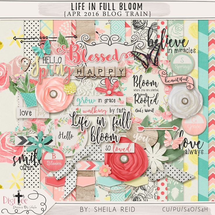 April 2016 Blog Train - Final List | Pixel Scrapper digital scrapbooking forums