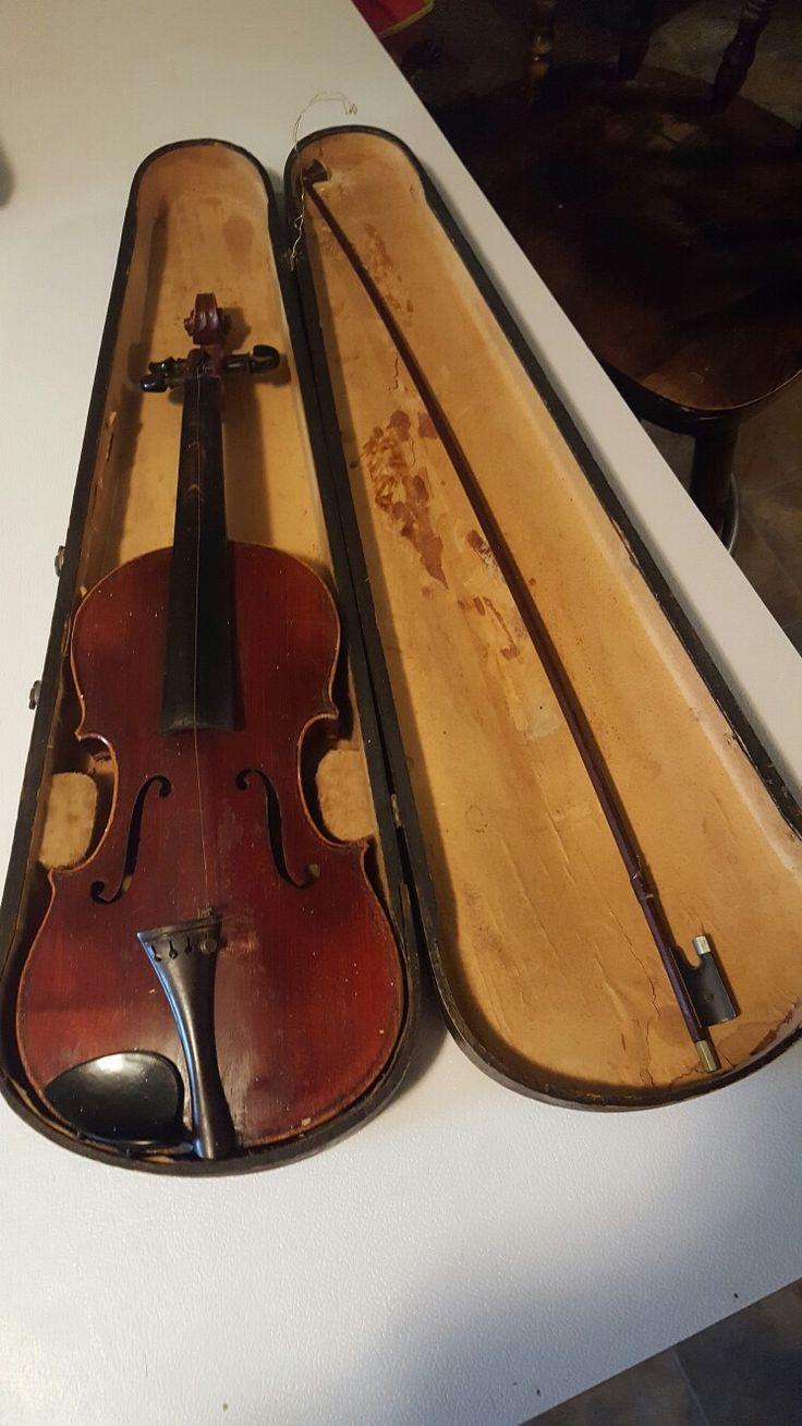 Antonio Stradivarius 1726 copy g & b original $100.00 USD
