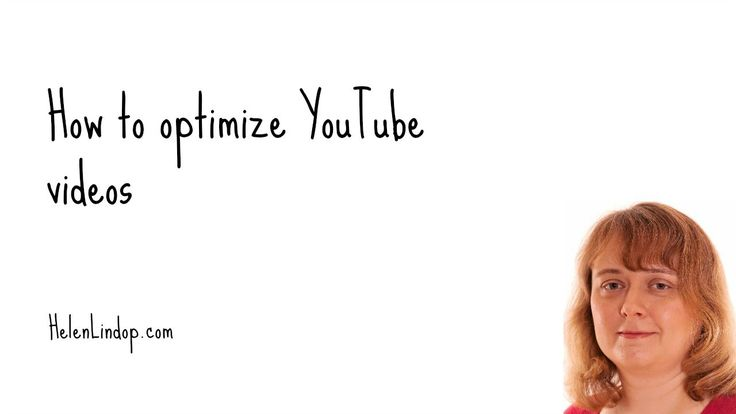 How to optimize your YouTube videos #30dayvideochallenge