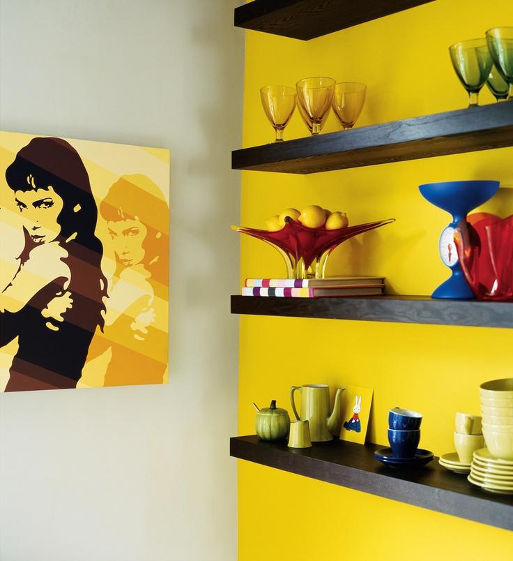 Farbbalance Interieurfarben Zitronengelb Lackfarben Farbpaletten Ideen Farben Gelb Yellow Walls