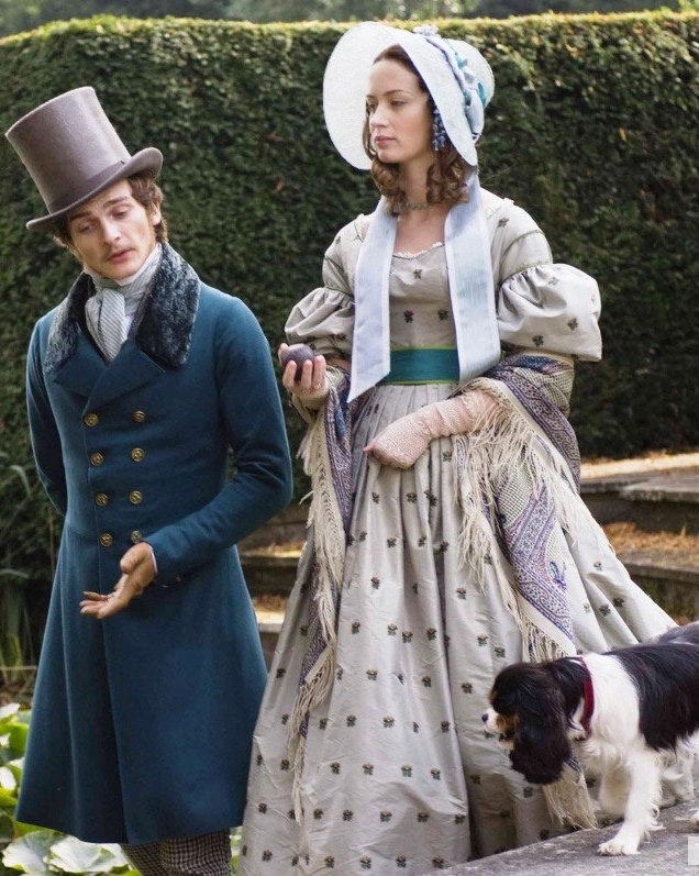 Emily Blunt and Rupert Friend in Young Victoria (2009)