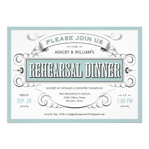 20 best Rehearsal Dinner Invitation Template images on Pinterest - lunch invitation templates