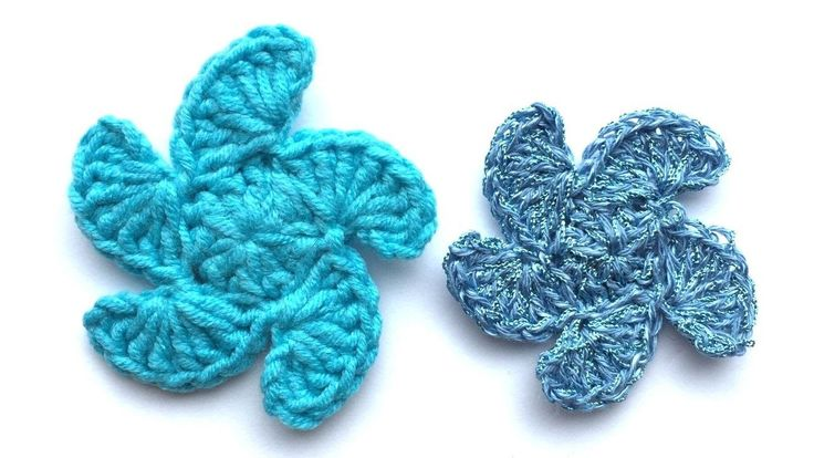 How To Make Crochet Shells Flowers - DIY Crafts Tutorial - Guidecentral