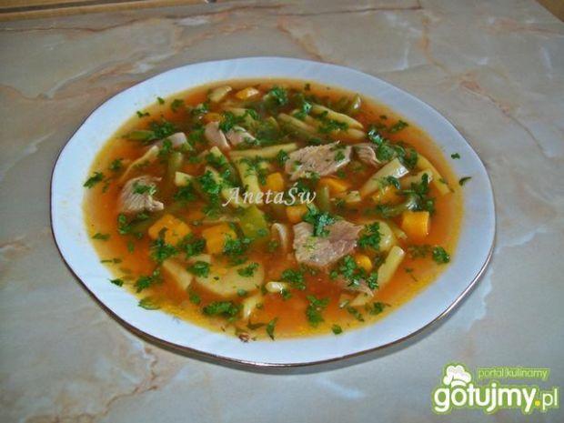 Zupa z fasoli szparagowej. Smakuje wybornie!