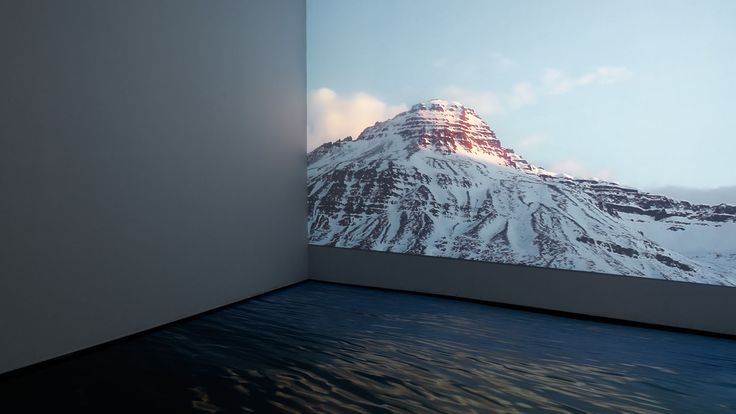 Where the Mountains Meet the Sun, HD video installation. 45 minutes.