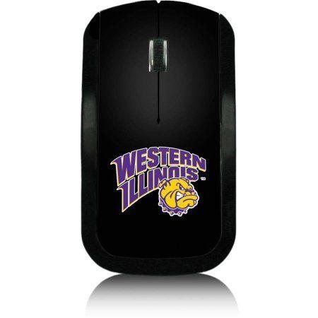 Western Illinois University Wireless USB Mouse, Multicolor