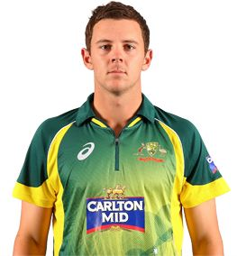Josh Hazlewood     Role: Bowler    Bats: LHB    Bowls: RFM    Date of Birth: 08 Jan 1991    A country boy from Tamworth, Josh Hazlewood made his international debut followed in 2010, aged 19, when he took on England in an ODI in Southampton, becoming the youngest Australian player at that level.