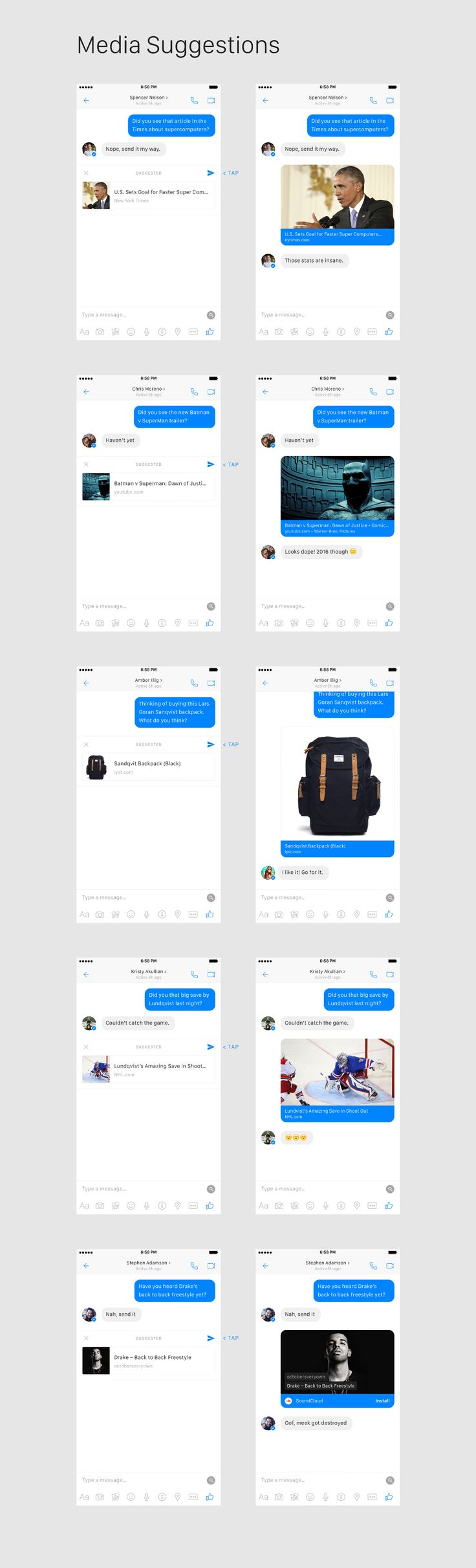 Facebook Messenger Concept — Adventures in Consumer Technology — Medium