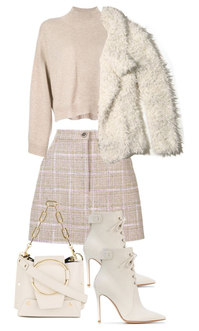 """Untitled #4903"" by theeuropeancloset on Polyvore featuring Natasha Zinko, ATM by Anthony Thomas Melillo, Yuzefi, Gianvito Rossi and Hollister Co."