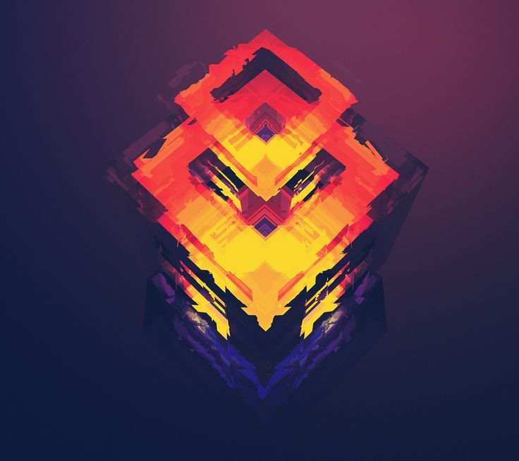 Cubic Fire - Android wallpaper @mobile9