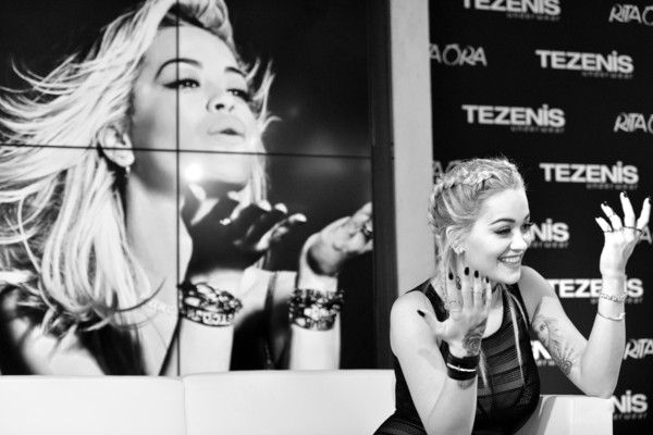 Rita Ora Photos - Tezenis Underwear Campaign Launch Party in Frankfurt am Main - Zimbio
