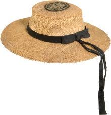 "Civil War Navy Enlisted Man's ""Sennit"" or Straw Hat"