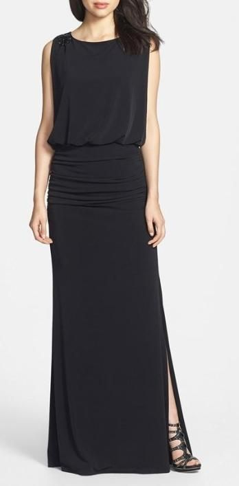 Simple and elegant - Jersey Gown