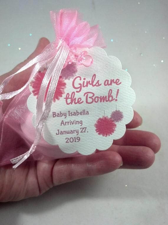 24 Bath Bomb Baby Shower Favors 3 5 Ozs Each In Organza