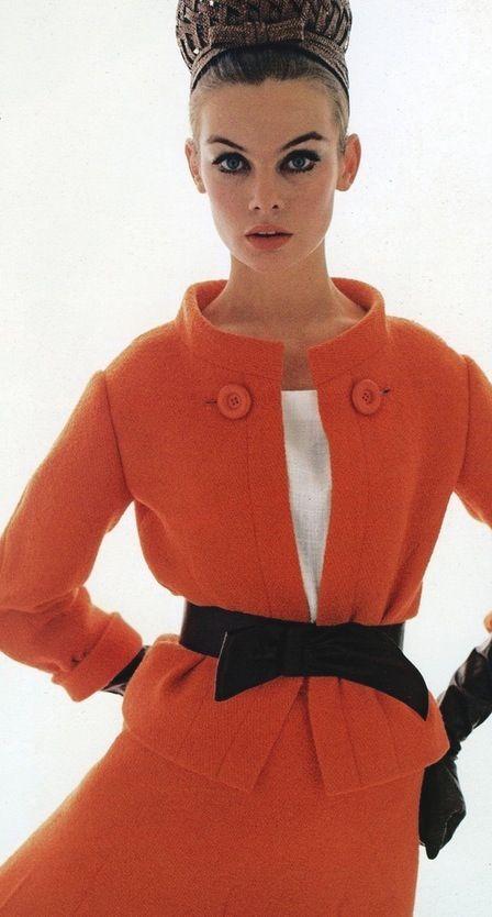 Jean Shrimpton in Vogue UK by David Bailey March 1963