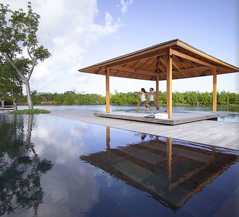 AMANYARA the spa yoga sala. #amanyara #turks #caribbean #island #travel #secret #escapes amanyara.com