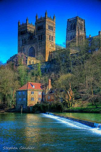 Durham Cathedral. One of my favorite places in England!