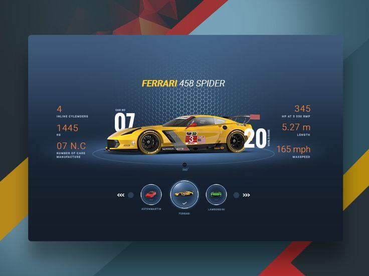 Moto Gaming Sports Desktop UI