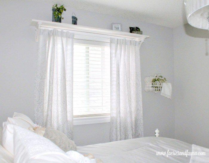 Diy Farmhouse Shelf Farmhouse Shelves Curtains Farmhouse Style