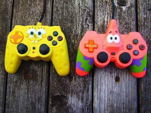 Spongebob + Video Games.