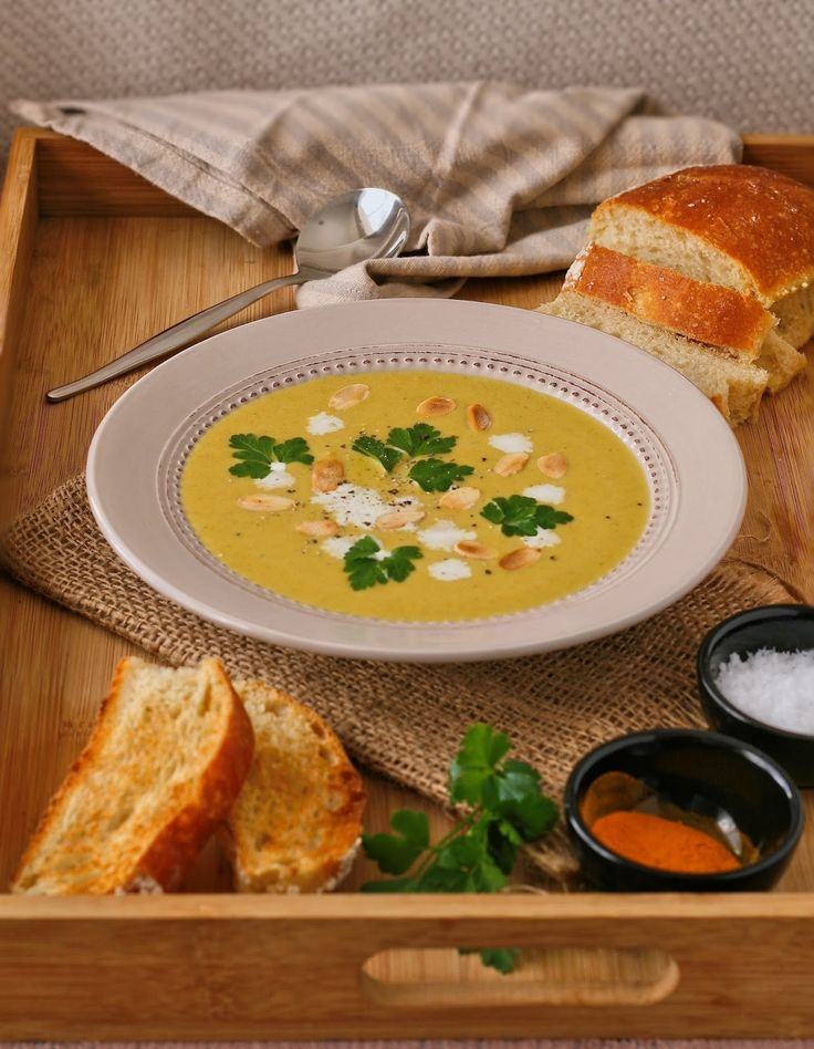 Creamy butternut soup - This is an easy soup to throw together and the best part is that you can make a big batch and freeze it, ready for those cold winter days.