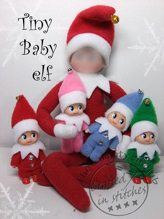 Tiny Baby Elf Miniature Elf Doll Christmas Decoration Gift