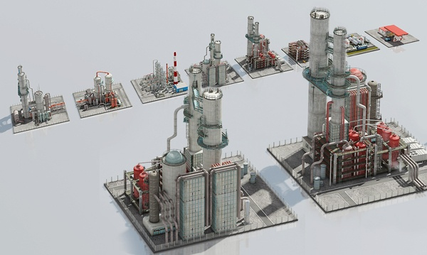 Factories on Behance
