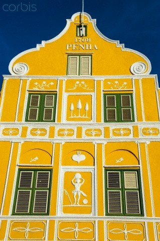 Colorful Curacao, Netherlands Antilles, Caribbean