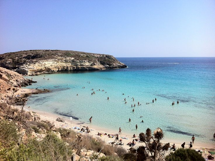 Landscapes of my native land, Lampedusa